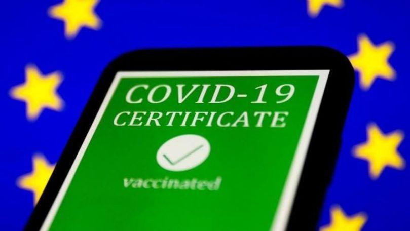 COVID: Certificatul digital european va fi valabil în România din iulie