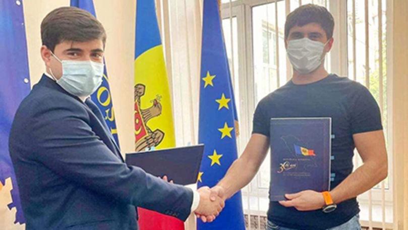 Poșta Moldovei a semnat un contract de colaborare cu compania Simpals Ⓟ