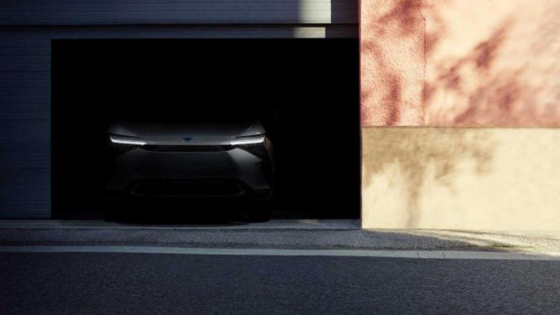 Teaser cu noul model electric de la Toyota: Când debutează