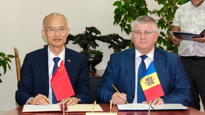 China a oferit Moldovei scanere la vamă unice în regiune