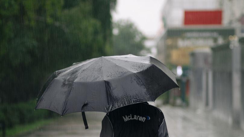 Prognoza meteo: Ploi pe întreg teritoriul țării și maxime de +31 grade