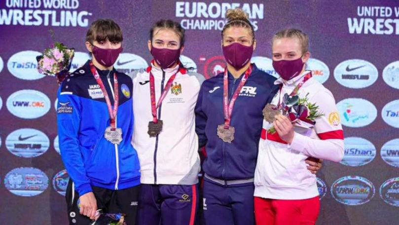 Luptătoarea Irina Rîngaci a devenit campioană europeană