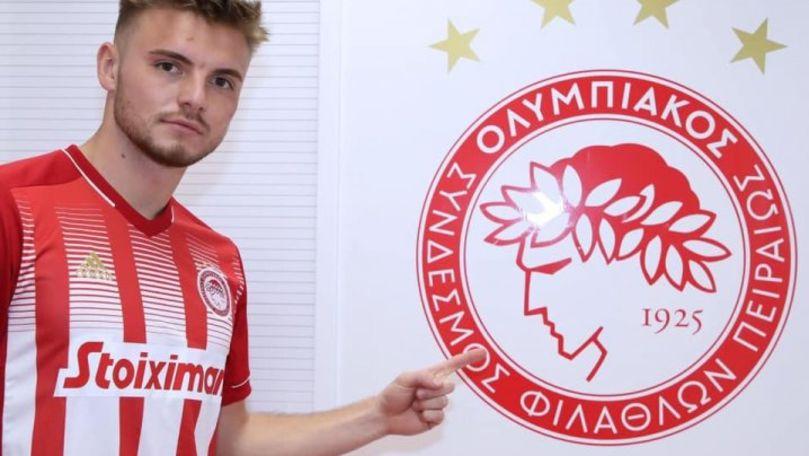 Fotbalistul moldovean Oleg Reabciuk a jucat primul său meci în echipa Olympiacos Pireu