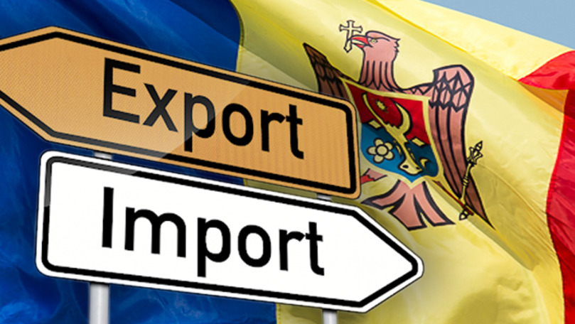 Agenții economici din Moldova au redus exportul, dar au majorat importul