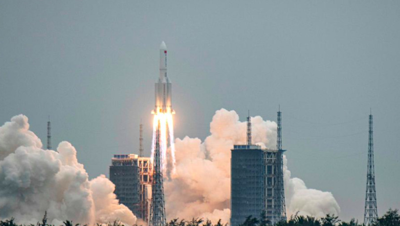 China a trimis pe orbită primul modul al stației sale spațiale