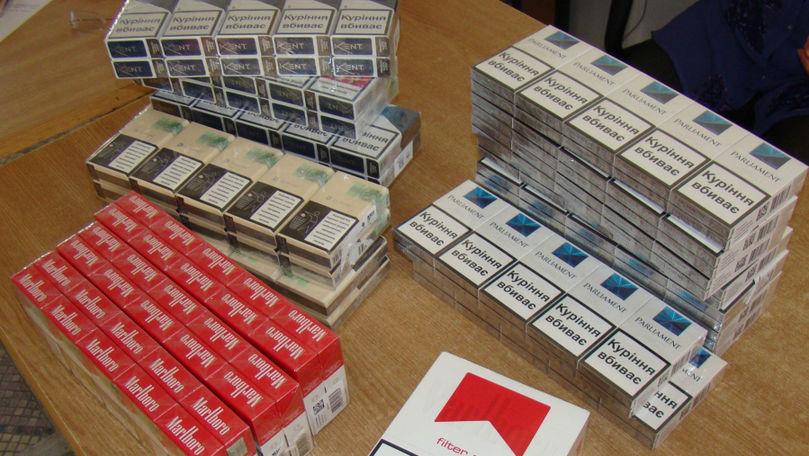 Salt spectaculos al contrabandei cu ţigarete din R. Moldova în România