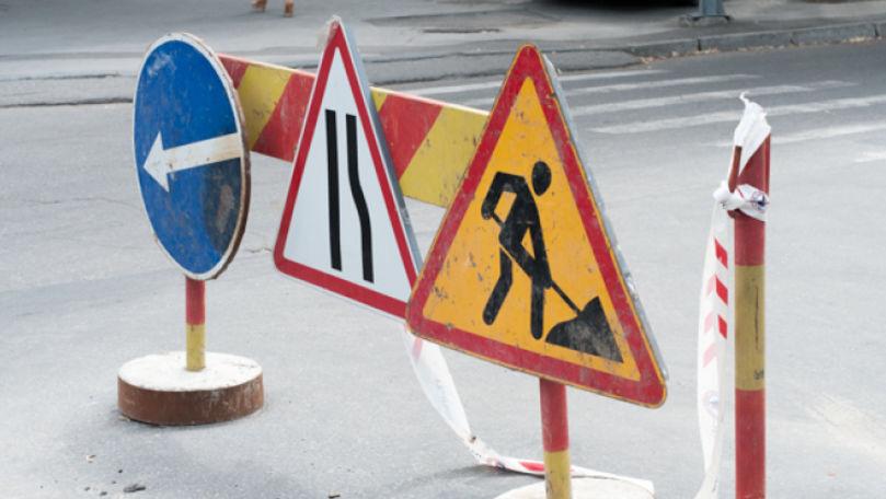 Trafic suspendat pe strada Creangă: Rutele troleibuzelor și microbuzelor