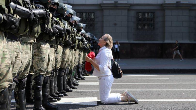 Belarus: Tihonovskaia vrea să declare forțele de securitate entităţi teroriste