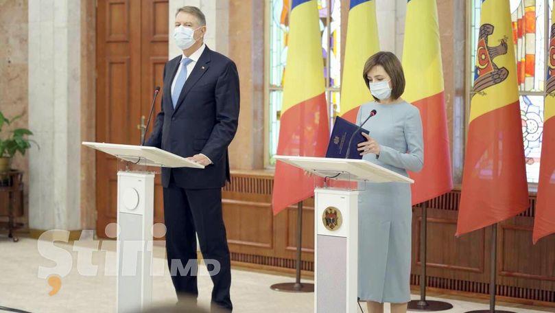 Iohannis: România va oferi 200.000 de doze de vaccin pentru R. Moldova