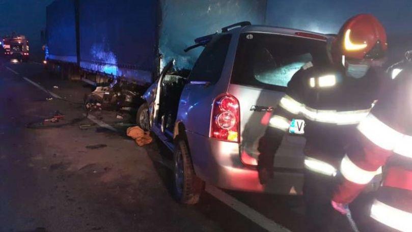 TIR din R. Moldova, implicat într-un accident tragic în România: 4 morți