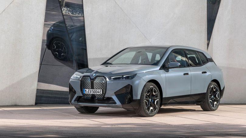 BMW iX în detaliu: Până la 523 cp și 630 de km autonomie maximă