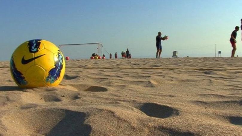 Naționala Moldovei de fotbal pe plajă a pierdut două meciuri în fața Ucrainei