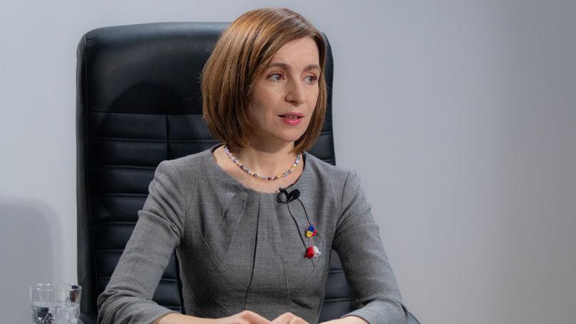Decretul Maiei Sandu privind dizolvarea Parlamentului, în Monitorul Oficial