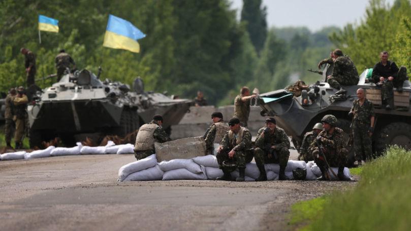 Patru separatişti proruşi, ucişi în regiunea Donețk