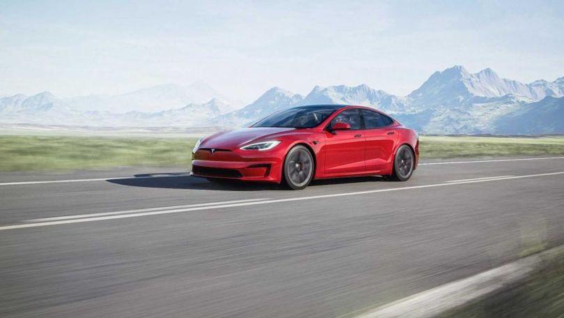 Tesla renunță la versiunea Model S Plaid+ cu 1.115 CP