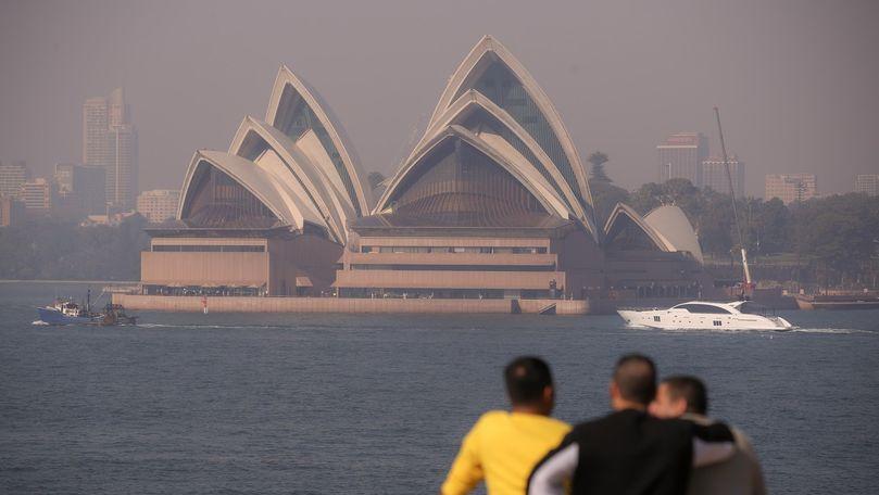 Australia: Orașul Sydney, afectat de fumul degajat de incendii