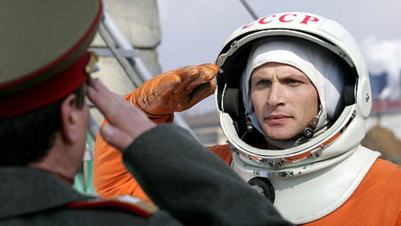 Bătălia pentru spațiu: Un moldovean a interpretat rolul lui Gagarin