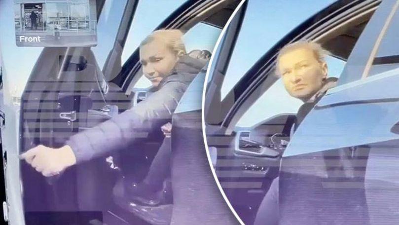 Răzbunarea unei șoferițe de BMW, filmată de camera video a unei Tesla