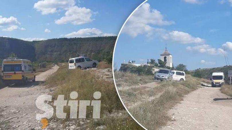 Alertă 112: Un călugăr de la Orheiul Vechi a căzut în gol de pe o stâncă