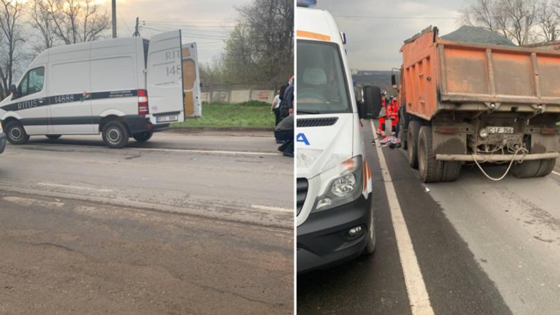 Chișinău: Un copil de 10 ani a murit după ce a fost spulberat de o mașină