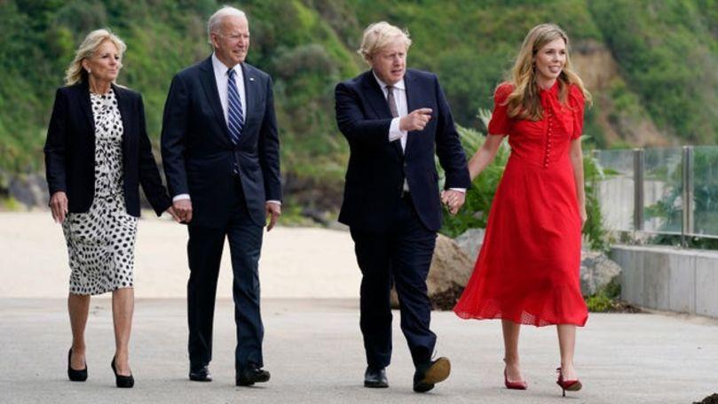 Întrevedere relaxată între Biden și Johnson, înaintea Summit-ului G7
