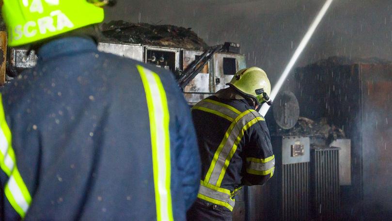 Incendiu mortal la Drochia: Un bărbat a ars în propria casă