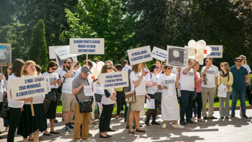 Memoriu: Libertatea presei din R. Moldova, în declin alarmant în 2020