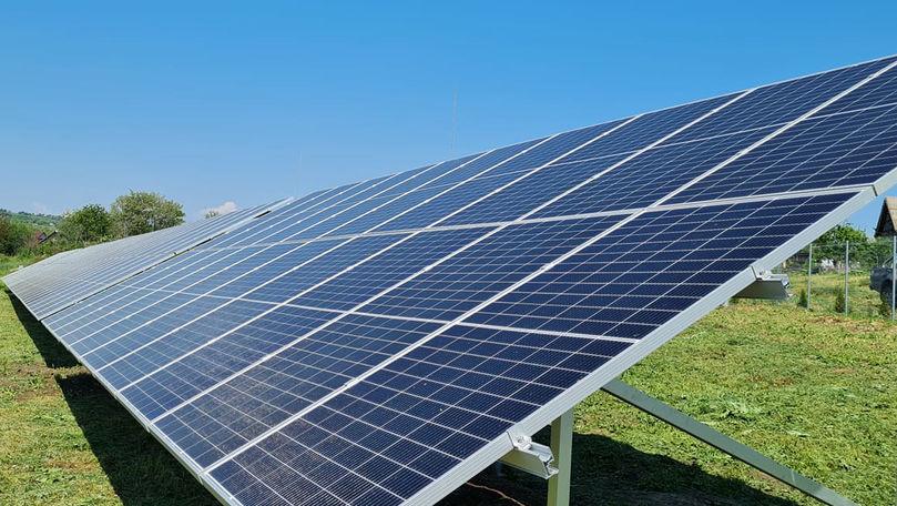 Un parc fotovoltaic, construit la Ștefan Vodă: Valoarea proiectului