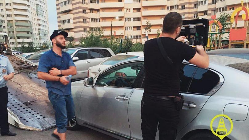 Mașina unui moldovean, implicată în urmărire ca în filme de acțiune