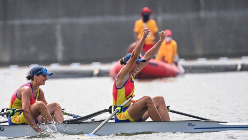 Primul aur obținut de România la JO la dublu vâsle: Nou record olimpic