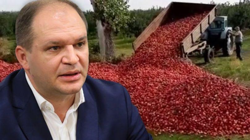 Ion Ceban vrea să cumpere mere de la agricultorii care nu le pot realiza