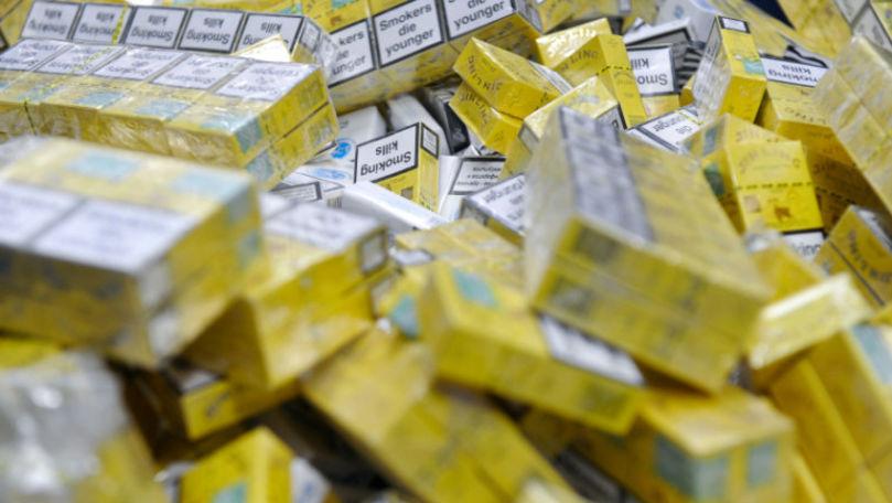 Contrabandă de țigări în România: Moldovenii, pe primul loc după rețineri