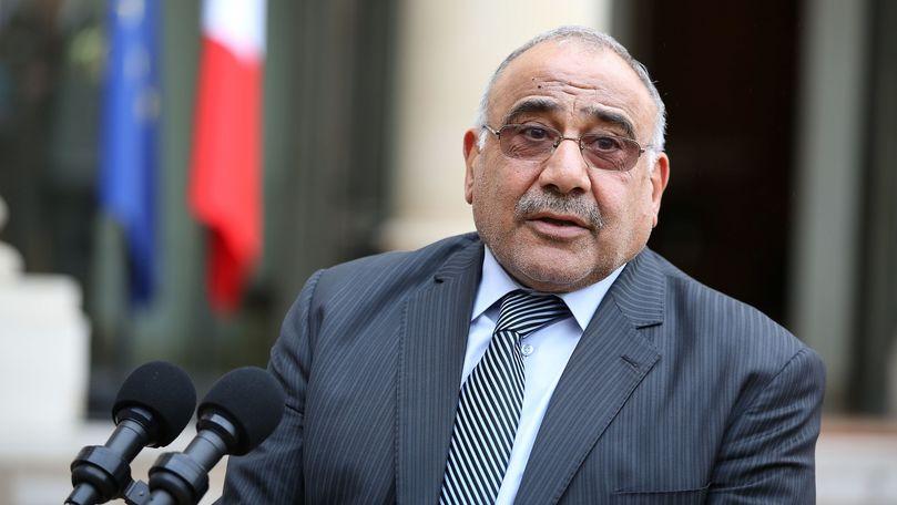 Premierul irakian încearcă să detensioneze relaţiile dintre SUA şi Iran