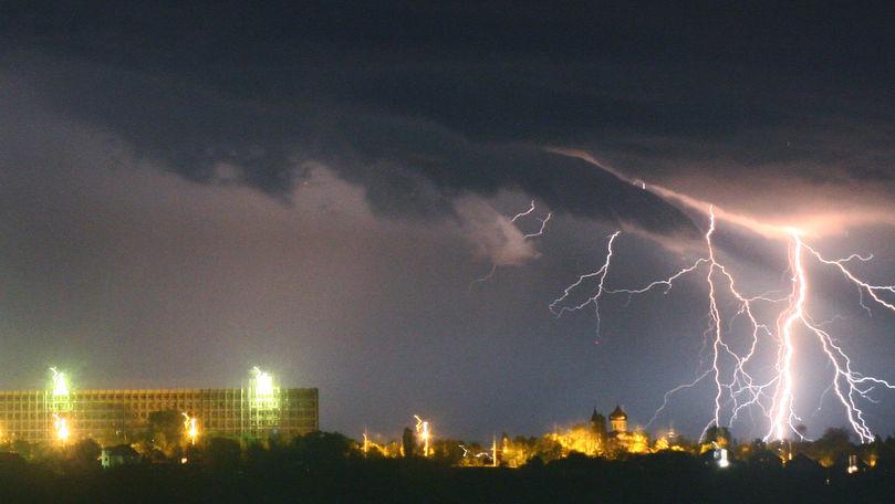 Meteo 3 iulie 2021: Ploi cu fulgere și maxime de +28°C