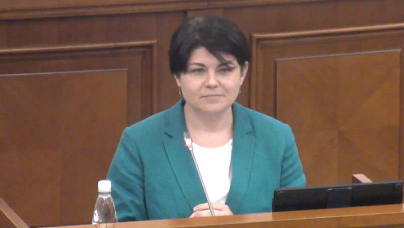 SPPS confirmă: Natalia Gavrilița va dispune de protecție