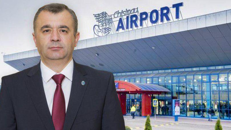 Chicu, despre noua cedare a Aeroportului: Proprietar rămâne statul