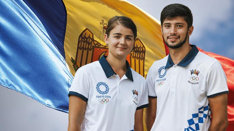 Dan Olaru și Alexandra Mîrca vor purta drapelul R. Moldova la Jocurile Olimpice