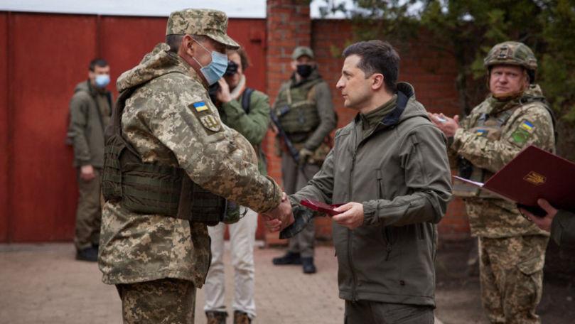 Zelenski îl invită pe Putin la întâlnire în zona de conflict din Donbas
