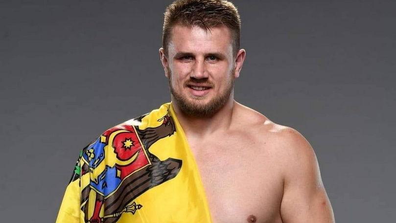 Luptătorul moldovean Alexandr Romanov a obținut a treia victorie în UFC