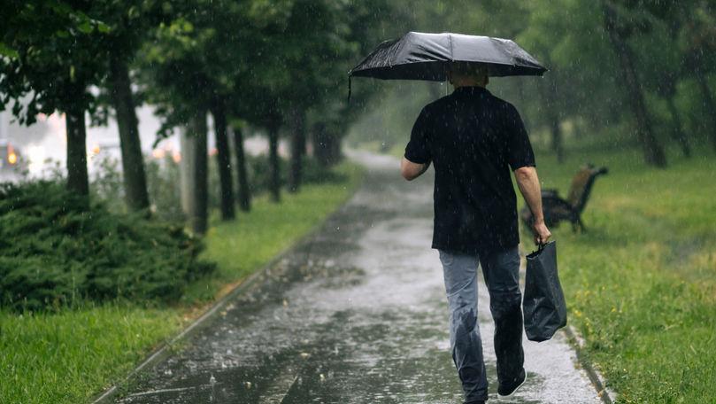 Meteo 26 august 2021: Maxime de +23°C și ploi cu fulgere. Zonele vizate