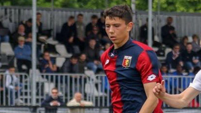 Un fotbalist moldovean a debutat la Genoa împotriva lui Ronaldo