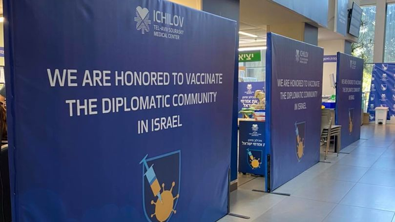 Angajații Ambasadei R. Moldova în Israel, vaccinați împotriva COVID