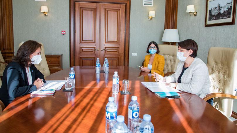 Gavrilița și șefa BERD au vorbit despre proiectele investiţionale