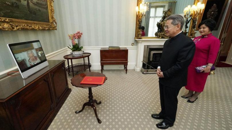 Accesul ambasadorului chinez în Parlamentul Marii Britanii, interzis