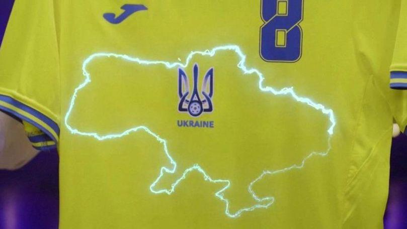 Ucraina, obligată de UEFA să schimbe tricourile pentru EURO 2020
