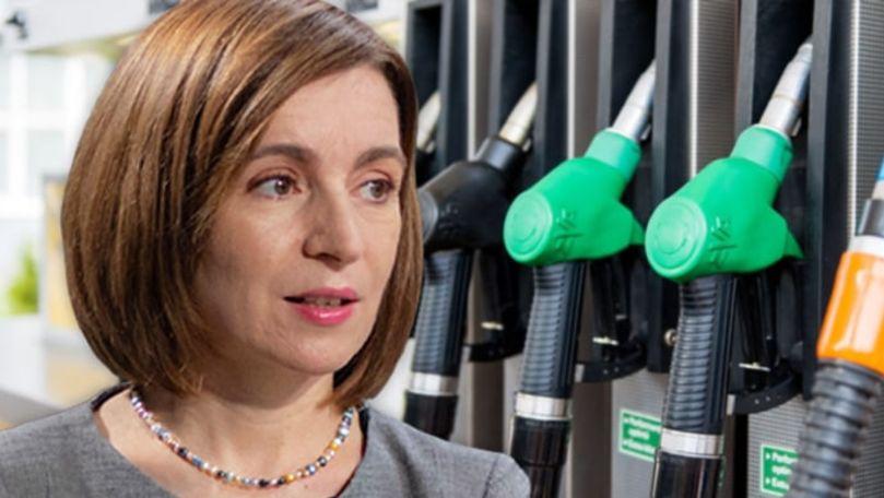 Maia Sandu explică scumpirile produselor petroliere: Soluția propusă