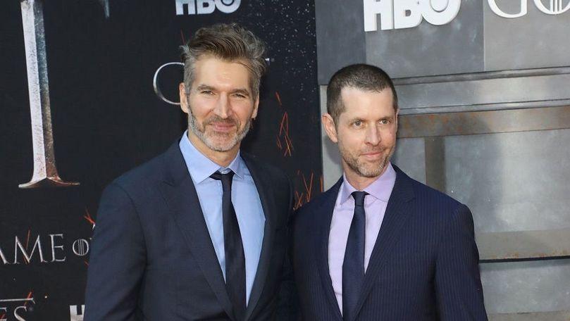 Creatorii Game of Thrones au semnat cu Netflix un acord de milioane