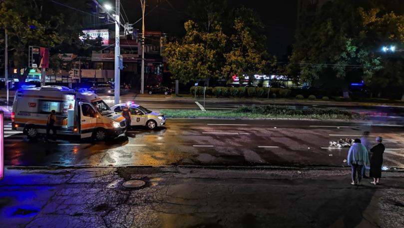 Tânăr accidentat mortal în Chișinău. Șoferul vinovat, de negăsit