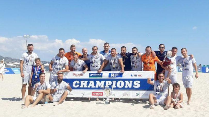 Moldoveanul Andrei Negara este campion al Bulgariei la fotbal de plajă