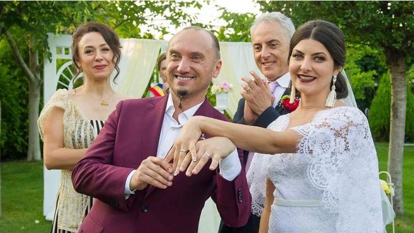 Actorii Anatol Durbală și Olesea Sveclă sărbătoresc nunta de lemn
